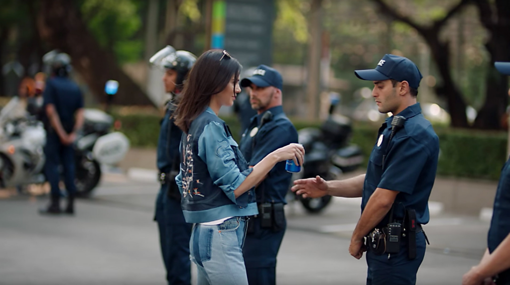 Pepsi's Controversial Kendall Jenner Ad