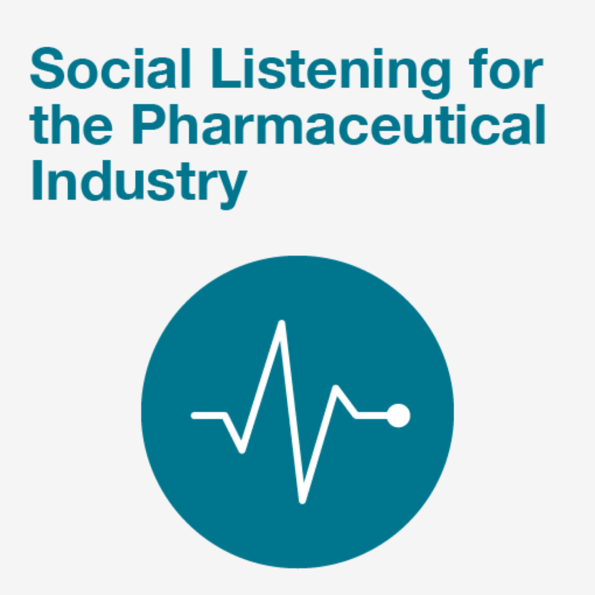 The Benefits of Social Listening for The Pharmaceutical Industry