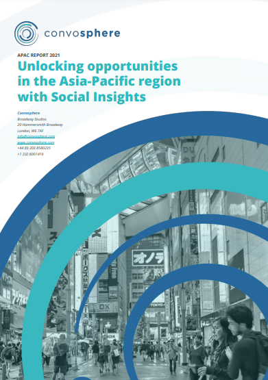 Front Page of Consumer Insights and Digital Behaviour in the Asia-Pacific Region Whitepaper