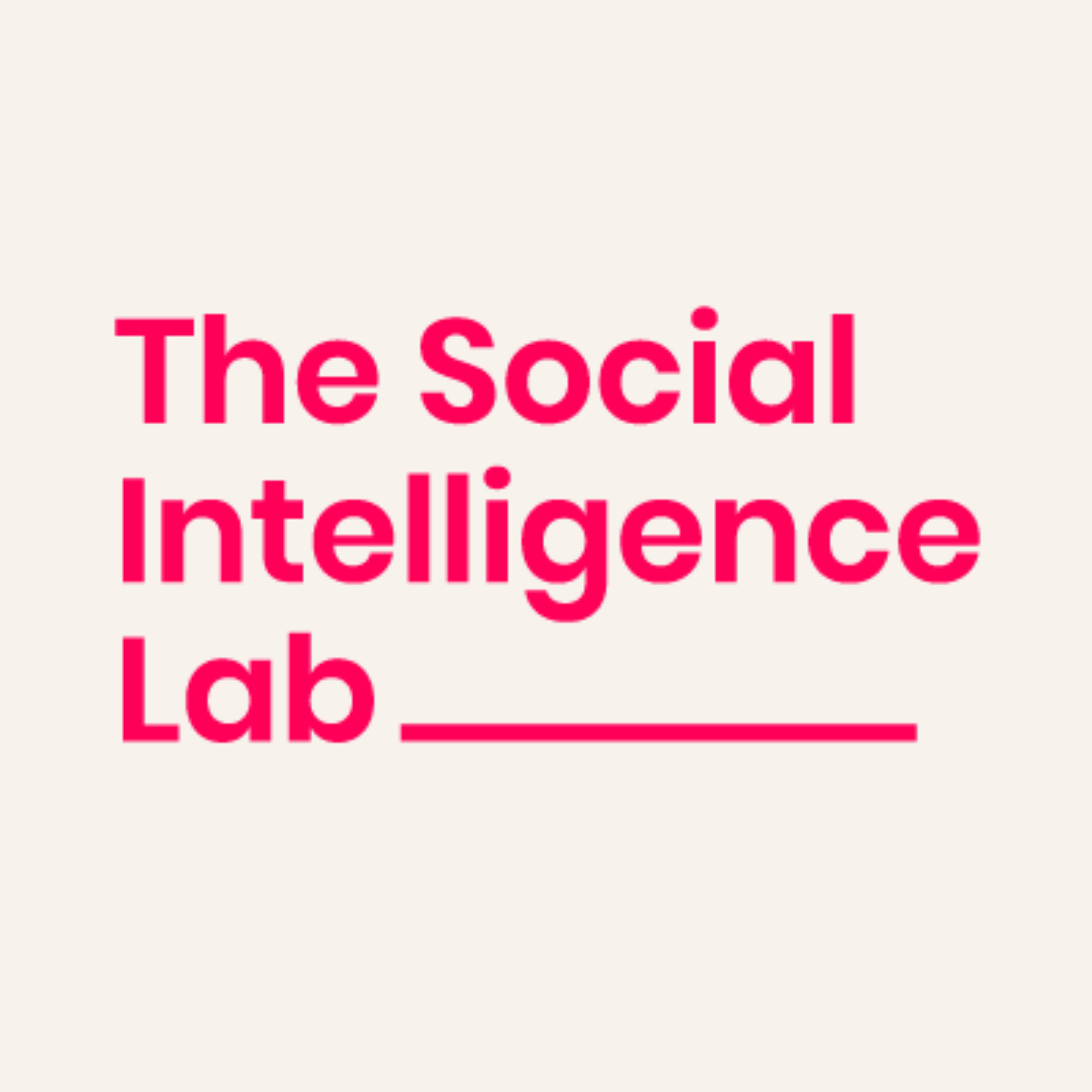 The Social Intelligence Lab Experts Panel